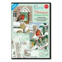 Christmas Cottage Robins